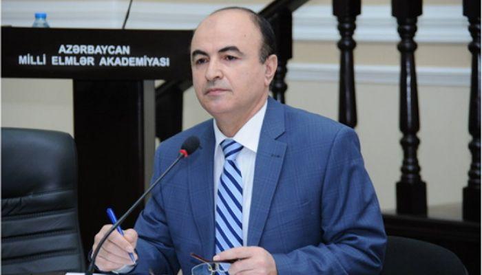 AMEA-nın müxbir üzvü Əminağa Sadıqov AMEA-nın akademik-katibi seçilib.